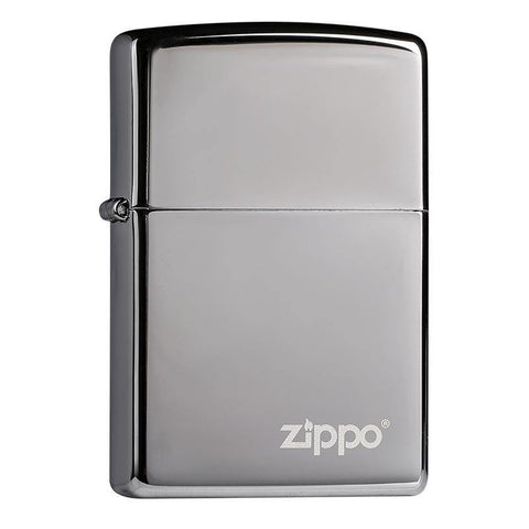Zippo Classic High Polish Chrome with Zippo Logo Windproof Lighter (250ZL)