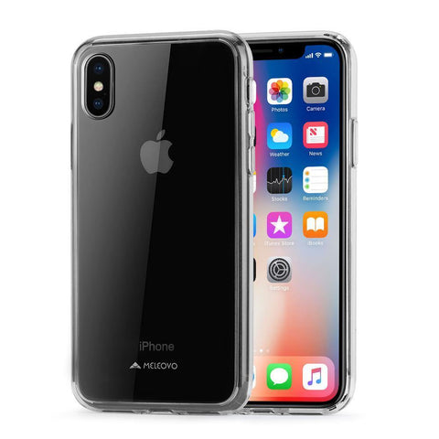 Meleovo Acry Case for Apple iPhone X - Clear