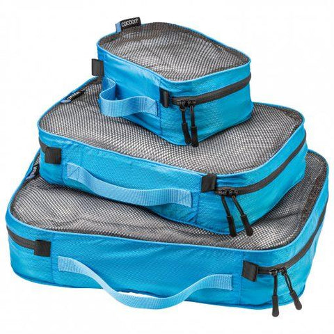 Cocoon Packing Cubes Ultralight Sets - Caribbean Blue