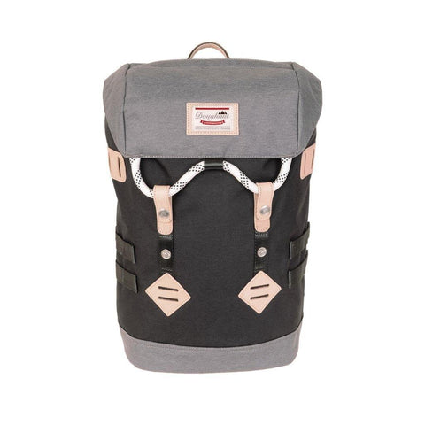 Doughnut Colorado Small Backpack - Black X Grey