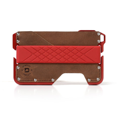 Dango Products D01 Dapper Wallet - Redline / Rawhide / Red