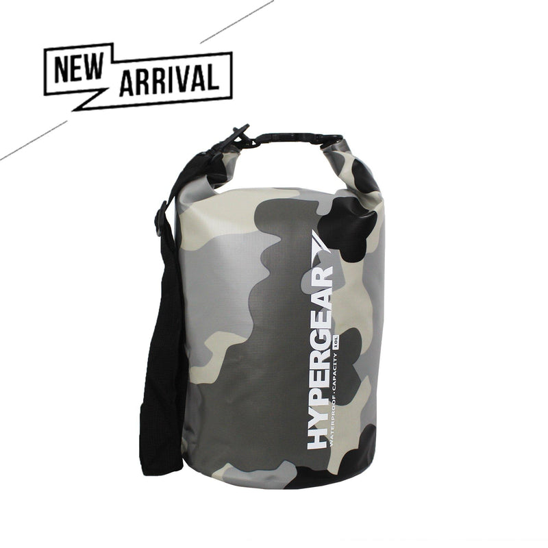 Hypergear Dry Bag 10L - Camouflage Grey Alpha - Oribags.com