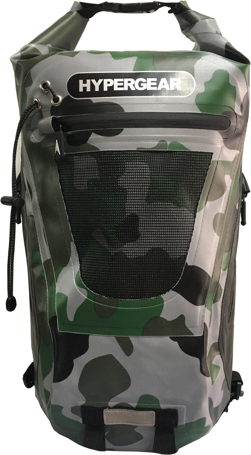 Hypergear Backpack Dry Pac Tough 20L - Camo Green Delta - Oribags.com