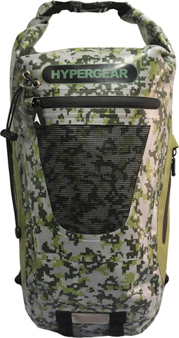 Hypergear Backpack Dry Pac Tough 20L - Digital Camo Green