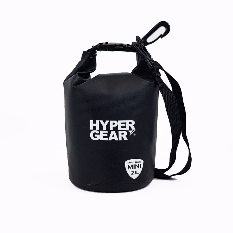 Hypergear Dry Bag Mini 2L - Black - Oribags.com