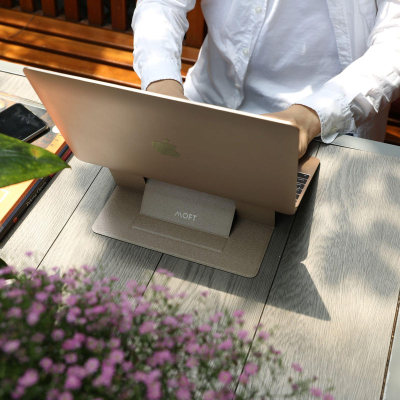 MOFT World's First Invisible Laptop Stand - Silver - Oribags.com