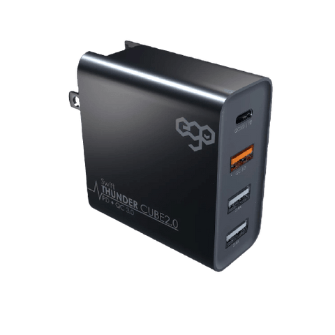EGO ThunderCube 2.0 Charger with Travel Adaptor (50W)
