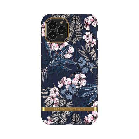 (Clearance) Richmond & Finch Floral Jungle IPhone 11 Pro Case - Gold Details