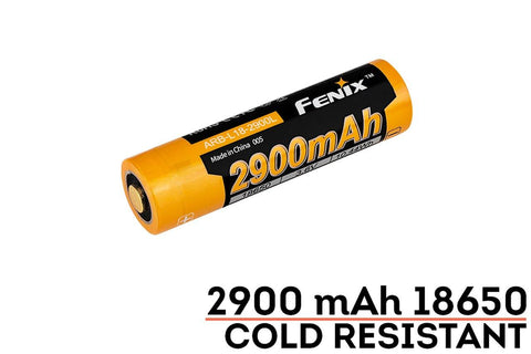 Fenix ARBL18 2900L Cold Resistant Rechargeable 18650 Battery