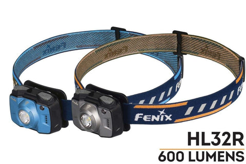FENIX HL32R Rechargeable LED Headlamp - Grey