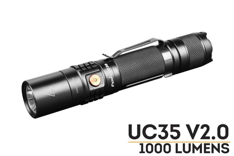 Fenix UC35 V2.0 LED Rechargeable Flashlight - Best EDC Flashlight