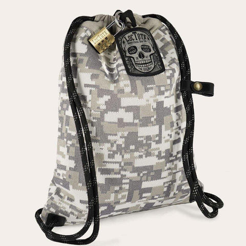 Loctote Flak Sack Theft-Resistant Drawstring Backpack - Coalition
