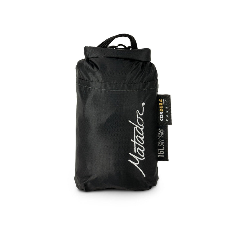 Matador Freefly16 Weatherproof Packable Backpack - Black - Oribags.com