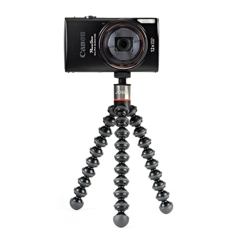 Joby GorillaPod 325 Compact Flexible Tripod for Point & Shoot and Small Cameras - Black/Charcoal