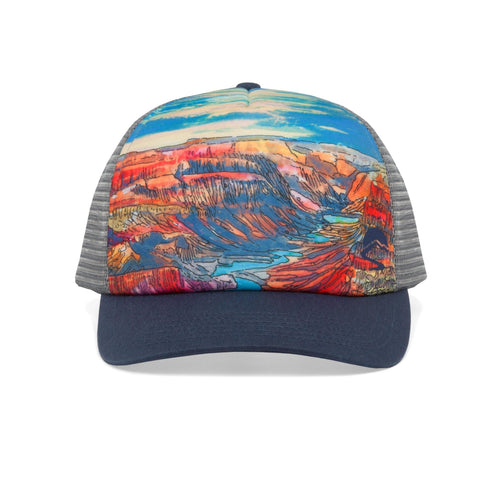 SUNDAY AFTERNOONS Artist Series Trucker Cap - Grand Canyon