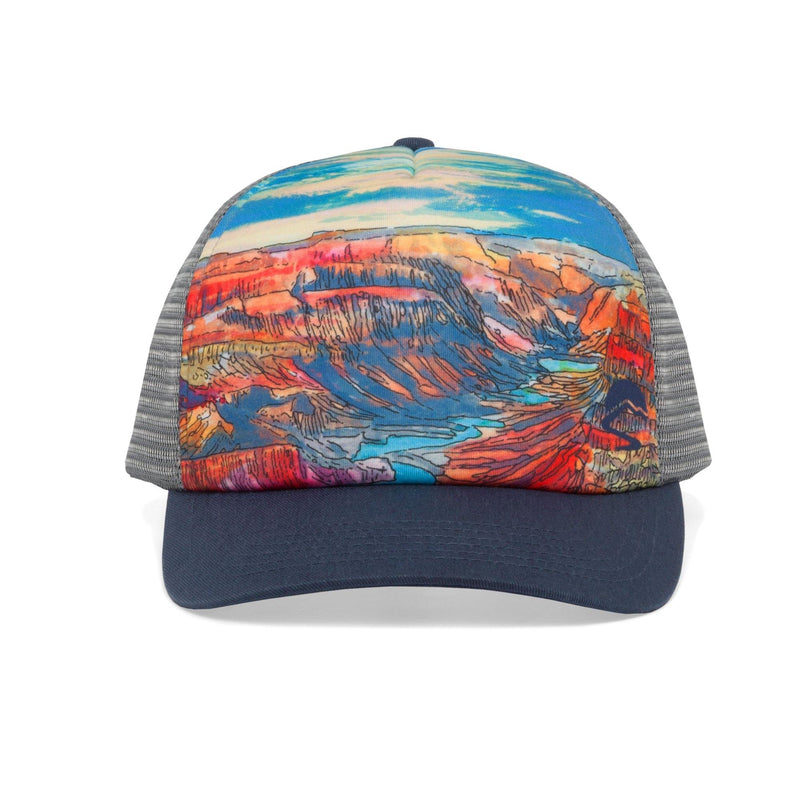 Sunday Afternoons Artist Series Trucker Cap - Grand Canyon - Oribags.com