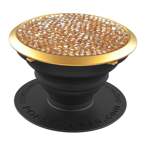 Popsockets Limited Edition Crystals From Swarovski - Golden Shadow Crystal