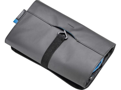 Cocoon Hanging Toiletry Kit Minimalist - Grey/Black/Blue