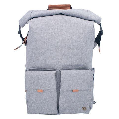 PKG DRI Rolltop Backpack - Light Gray