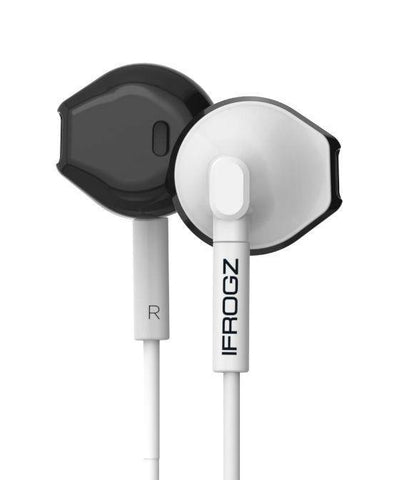 (Clearance) IFROGZ Audio InTone Earbuds with Microphone - White
