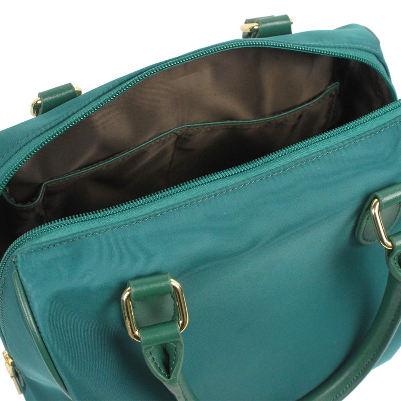 DAZZ ON THE GO MINI 3-IN-1 HANDBAG - PINE GREEN - Oribags.com