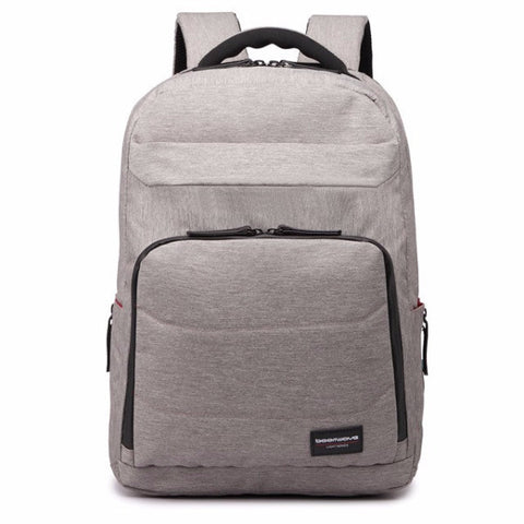 "Boomwave Light Series 15"" Laptop Backpack - Grey (+FREE GIFT) - oribags2 - 2"