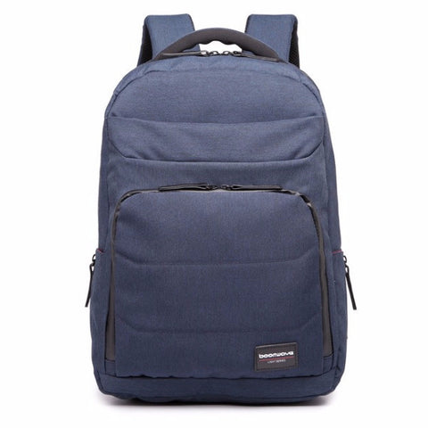 "Boomwave Light Series 15"" Laptop Backpack - Dark Blue (+FREE GIFT) - oribags2 - 2"