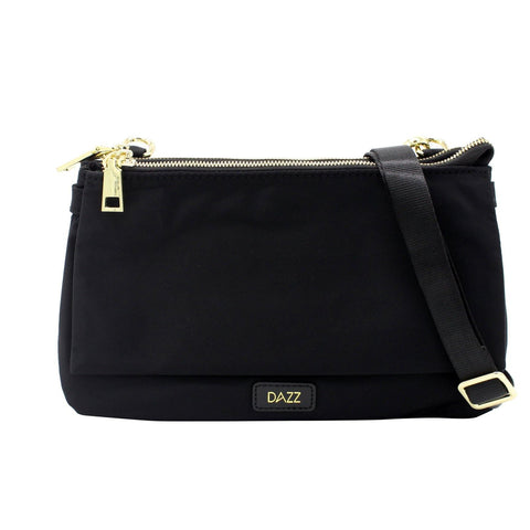 Dazz On The Go Duo Sling Bag - Jet Black
