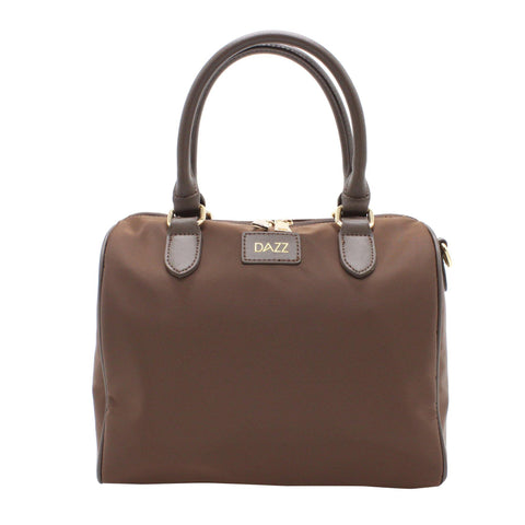 DAZZ ON THE GO MINI 3-IN-1 HANDBAG - CHOC BROWN