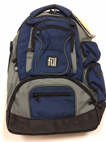Ful Beale Street Laptop Backpack - Navy
