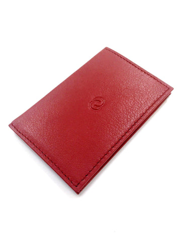 C-Secure RFIDSafe Slim Card Holder - Red
