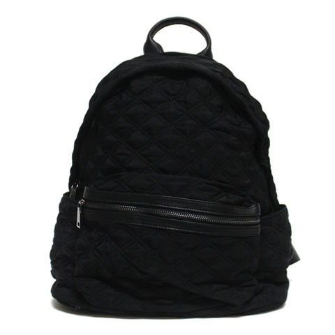 Dazz Quilted Backpack - Black