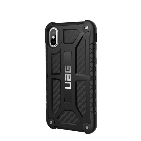 UAG Monarch Series iPhone XS/X Case - Carbon Fibre