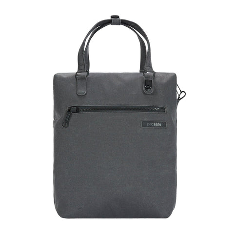 Pacsafe Intasafe Backpack Tote - Charcoal