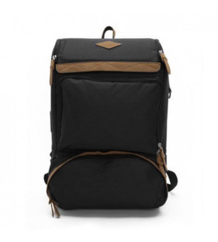 Living Gears Undying Canvas Satchel Backpack Black - oribags2