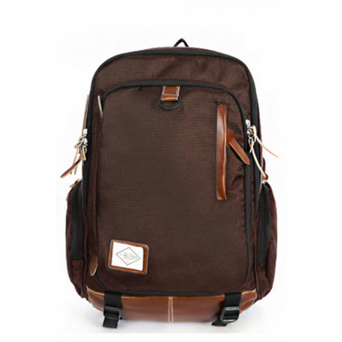 Living Gears Brown Antler Monotone Backpack - oribags2 - 1