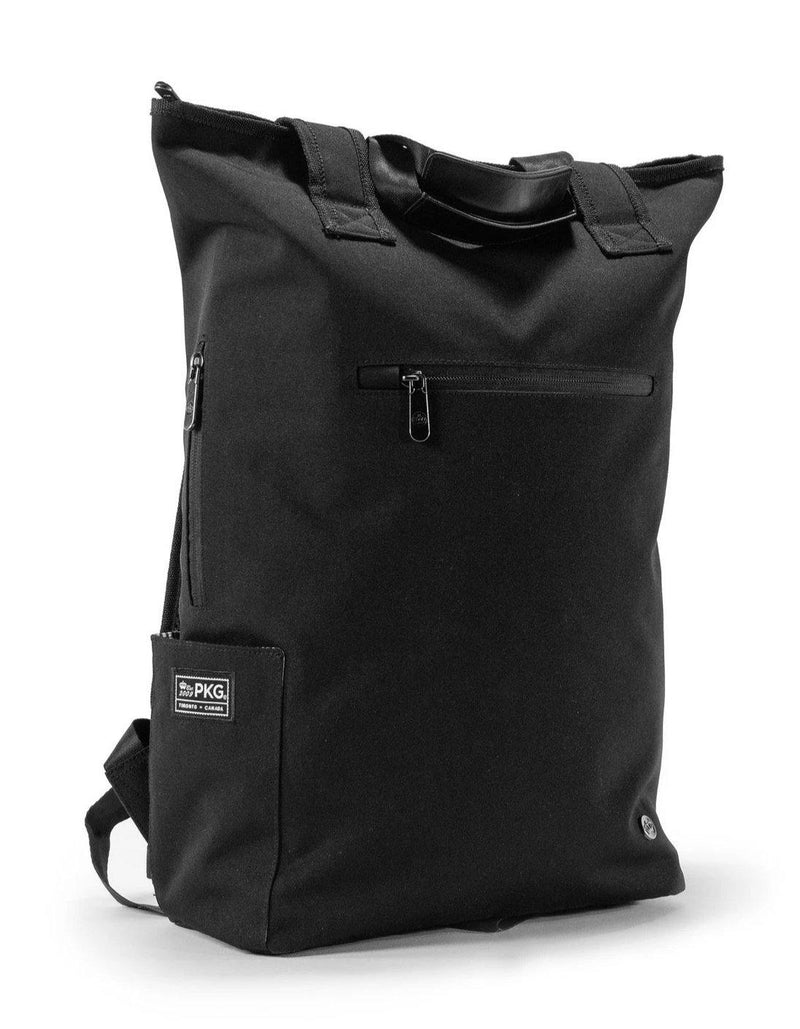 PKG Liberty transitional tote / backpack 23L - Black - Oribags.com