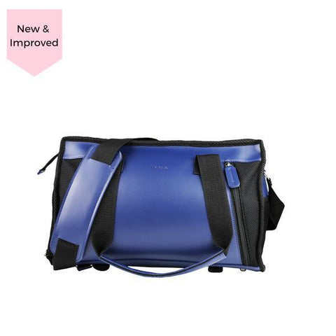 Livlola Lakota Mini Duffel in Navy Blue & Black