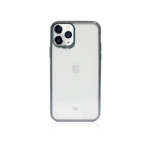MONOCOZZI LUCID|Acrylic Back Cover with Hybrid TPU Bumper for iPhone 11 Pro  - Charcoal