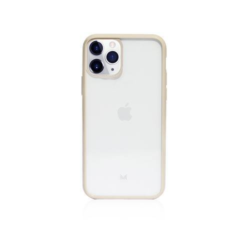 (Clearance) Monocozzi LUCID|Acrylic Back Cover with Hybrid TPU Bumper for iPhone 11 Pro  - Beige - Oribags.com