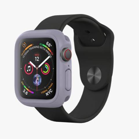 Rhinoshield CrashGuard NX for Apple Watch 44mm (Compatible with All Series) - Lavender - Oribags.com