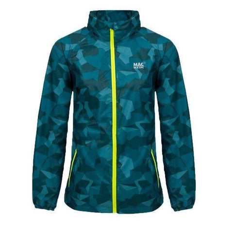 MAC IN A SAC Edition Unisex Waterproof Packable Jacket - Navy Camo