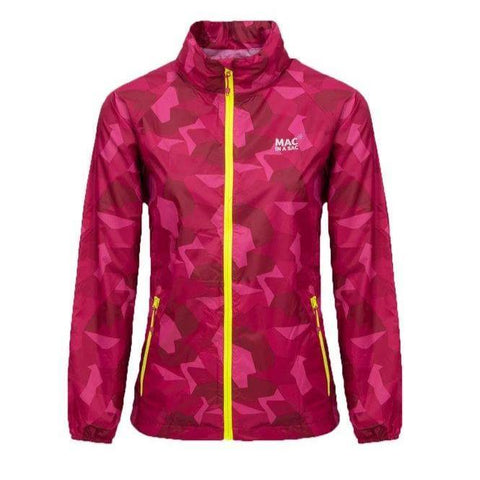MAC IN A SAC Edition Unisex Waterproof Packable Jacket - Pink Camo