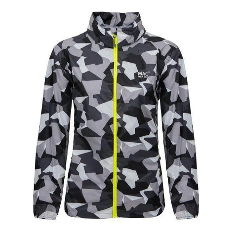 MAC IN A SAC Edition Unisex Waterproof Packable Jacket - White Camo