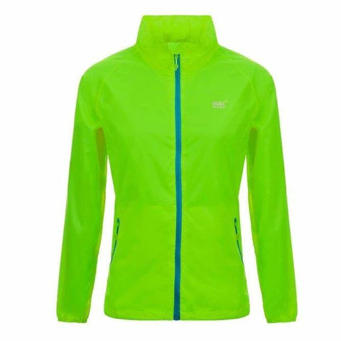 MAC IN A SAC Neon Unisex Waterproof Packable Jacket - Green