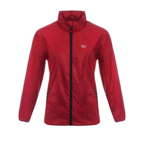 MAC IN A SAC Origin Unisex Waterproof Packable Jacket - Lava Red
