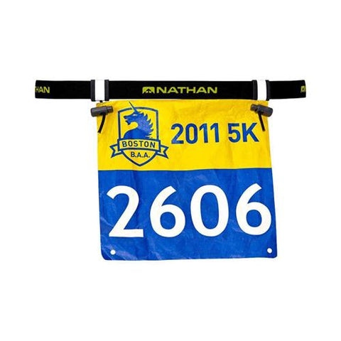 Nathan Race Number Belt - Black