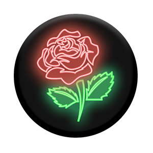 Popsockets Expanding Stand & Grip for Smartphones / Tablets -  Neon Rose