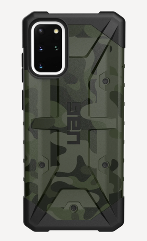 (Promo) UAG Pathfinder SE Series Samsung Galaxy S20 Plus [6.7-Inch] Case - Forrest Camo
