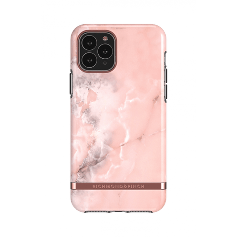 (Clearance) Richmond & Finch Pink Marble IPhone 11 Pro Max Case - Rose Gold Details